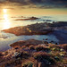 Sea Lion Cove Sunset