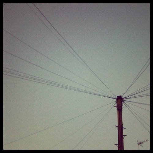 Power lines in #London | by Lex Machina