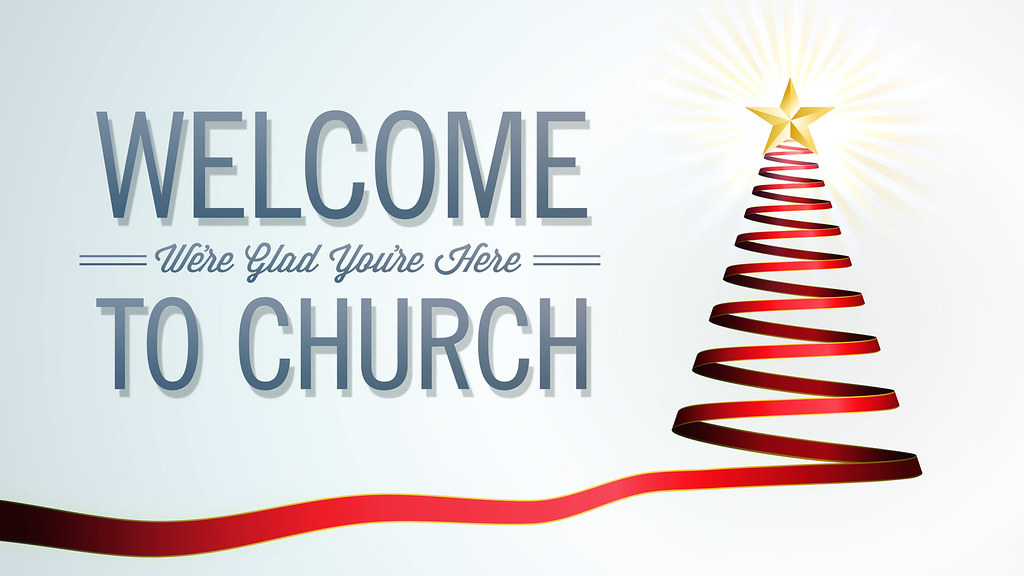 Welcome to Church Slide | Nice Slide to be use as a welcome … | Flickr