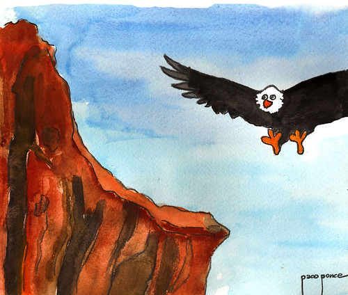 Águila en la cumbre | by Francisco Ponce Carrasco