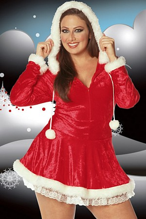 Plus Size Sleigh Belle Costume Youll Melt The North