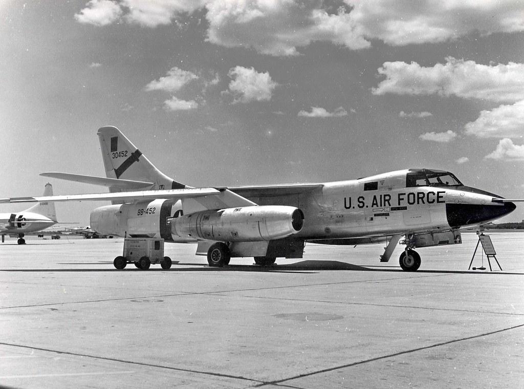 "Douglas RB-66B-DL ""Destroyer"" of the 363rd Tactical Reconnaissance ..."
