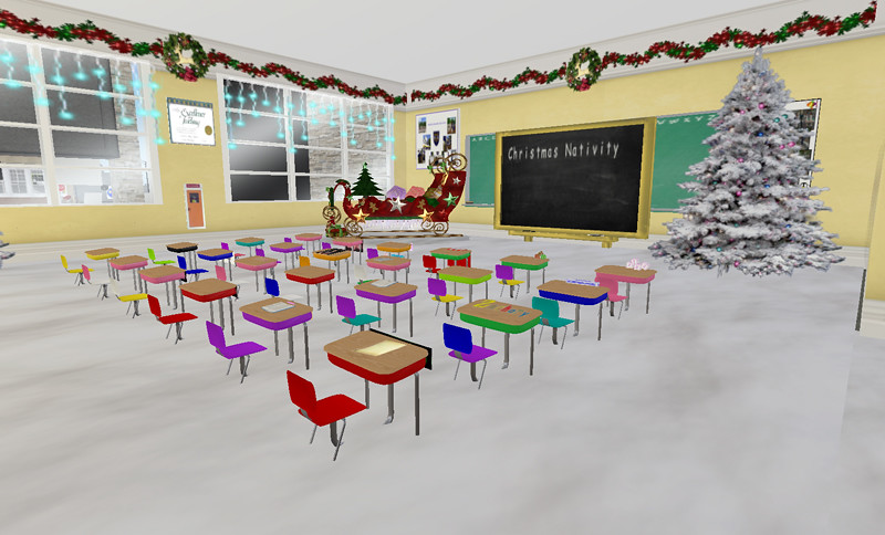 Miss Maisie's Class at Hardknock Elementary, decorated for ...
