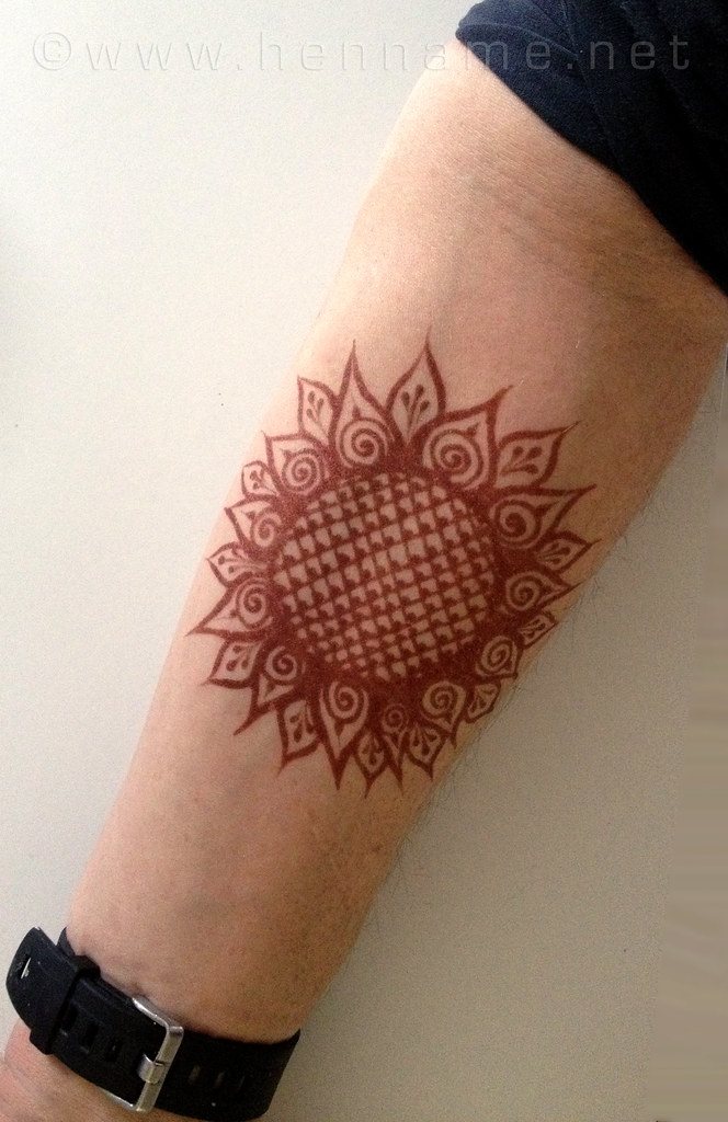 Henna Designs For Inner Arm: Great Color For An Inner Arm. I Was Very