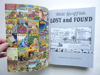 Bill Griffith: Lost and Found - Comics 1969-2003 - inside cover/title page | by fantagraphics