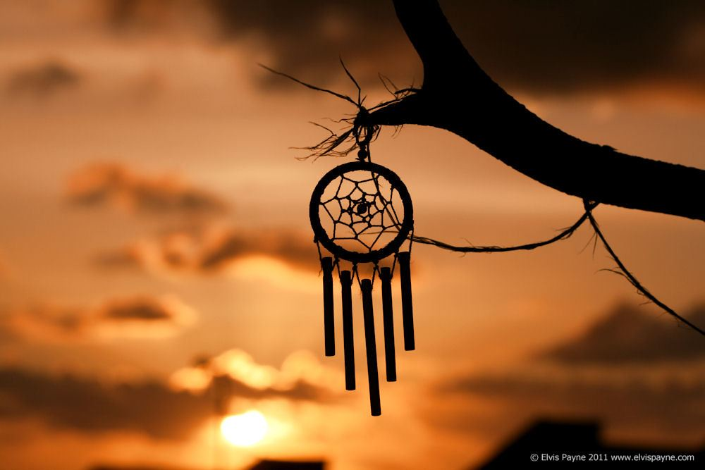 Dream catcher at Sunset | My dad enjoyed looking at the ...