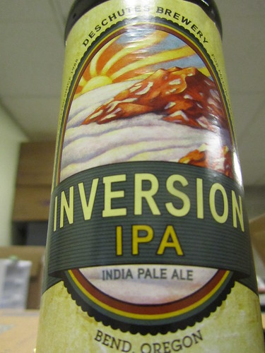 Love that Inversion IPA | by DeschutesBrewery