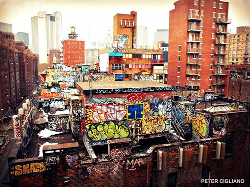 Graffiti Over The City 2nd | by NYCUrbanScape