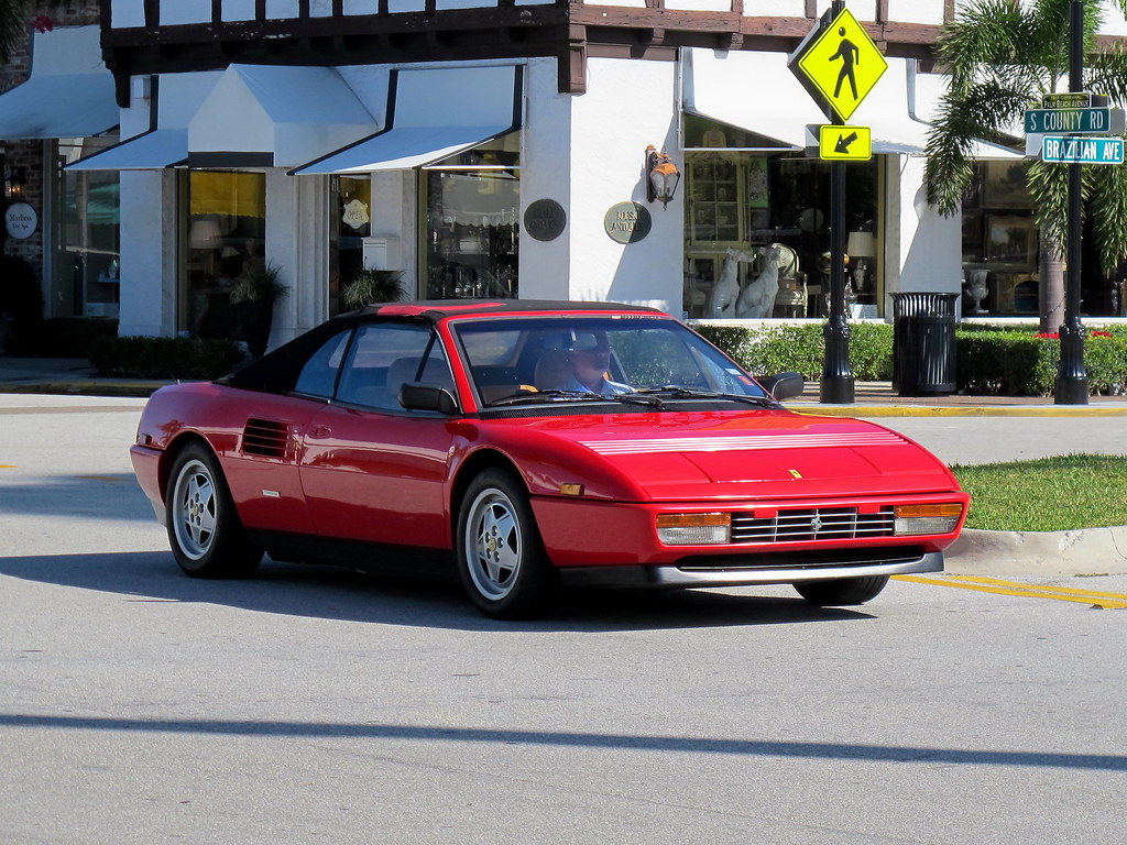 ferrari mondial spotted on s county road in palm beach alex j flickr. Black Bedroom Furniture Sets. Home Design Ideas