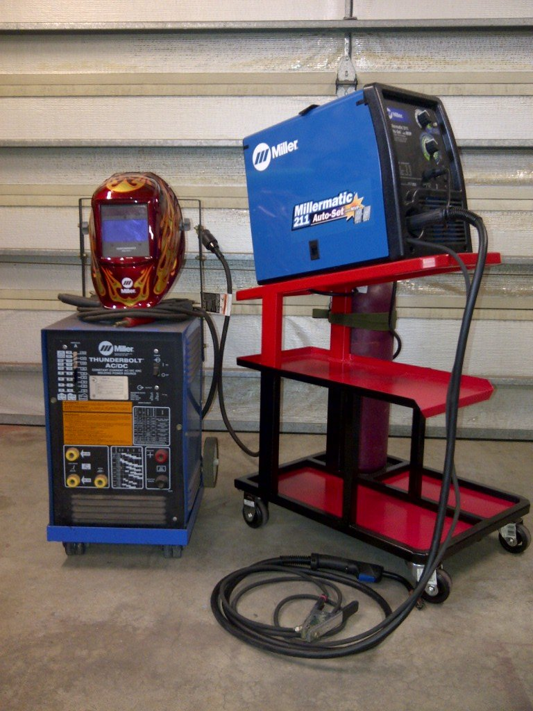 Custom Welding Cart By D Marx Description I Needed A