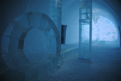 IceHotel Jukkasjärvi: the hall