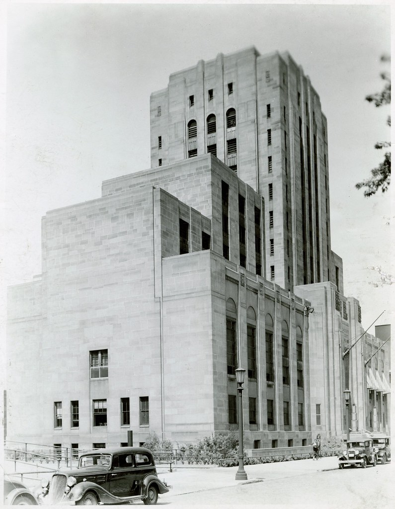 Cuyahoga County Criminal Courts Building Caption Reads