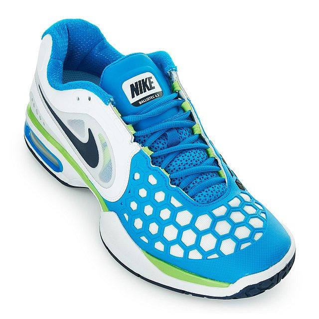 Nike Air Courtballistec   White Tennis Shoes
