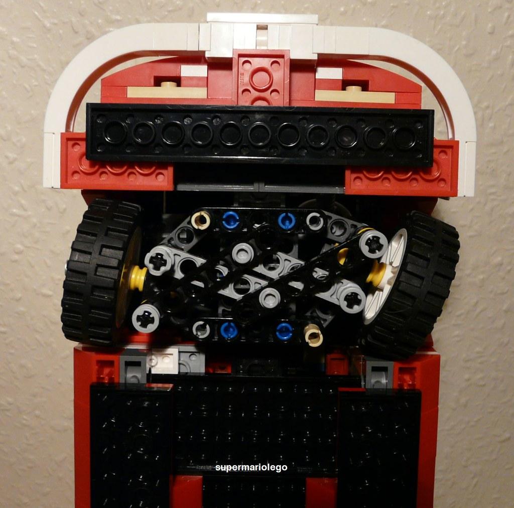 Lego 10220 Modified Steering Lego 10220 Volkswagen T1
