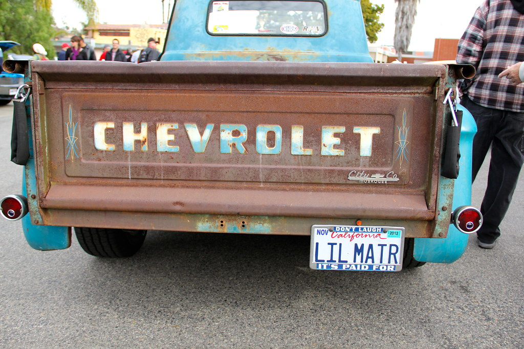 burger run car show chevy truck tailgate driven to capture 2 flickr. Black Bedroom Furniture Sets. Home Design Ideas