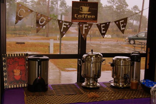 Wedding coffee bar flickr photo sharing for Coffee bar for wedding