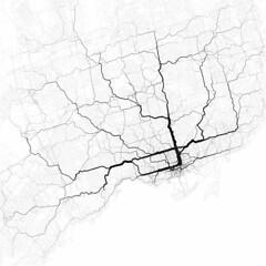 Paths though Toronto