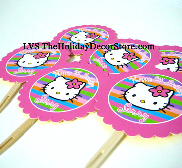 Hello Kitty Party Table Decorations