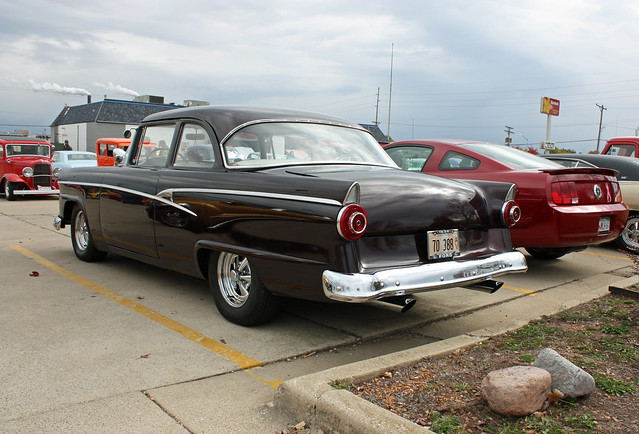 1956 ford customline 2 door sedan hot rod 6 of 7 for 1956 ford customline 2 door hardtop