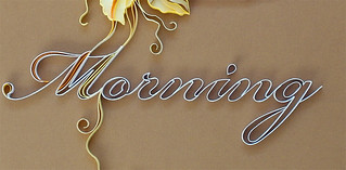 Quilled lettering | by all things paper