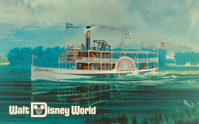 disney walt disney world cruising by excursion steamer