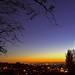 Harrow sunset