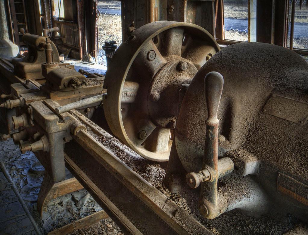Abandoned Machine Shop The American Tool Works Company La