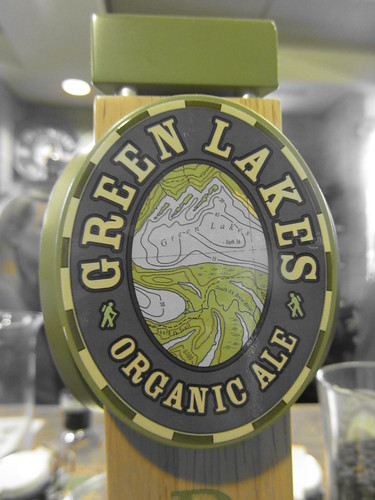 Green Lakes Organic Ale tap decal | by DeschutesBrewery