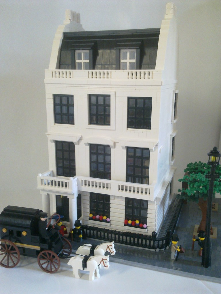 Georgian Townhouse C1905 Here Is My Largest Moc I Have