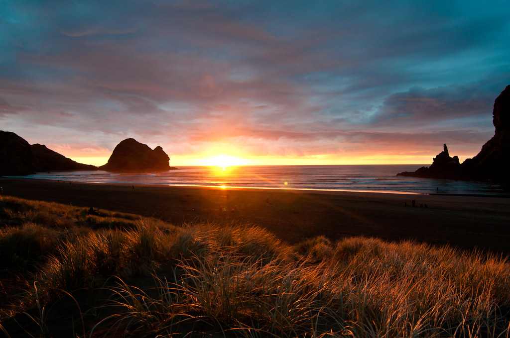Good Night Piha Piha New Zealand Chris Zielecki Flickr