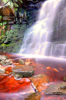 Middle Black Clough Waterfall | by Hydonian66