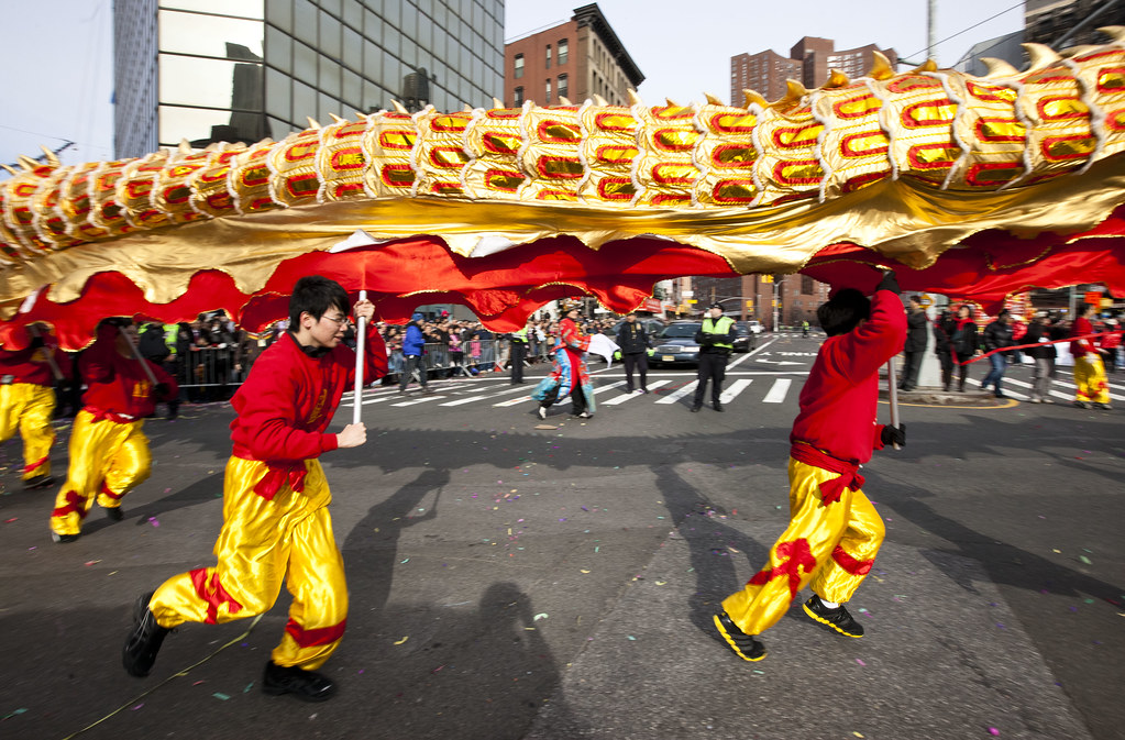 Dragon Charge! Chinese New Year's Parade, NYC, 2012 | Flickr