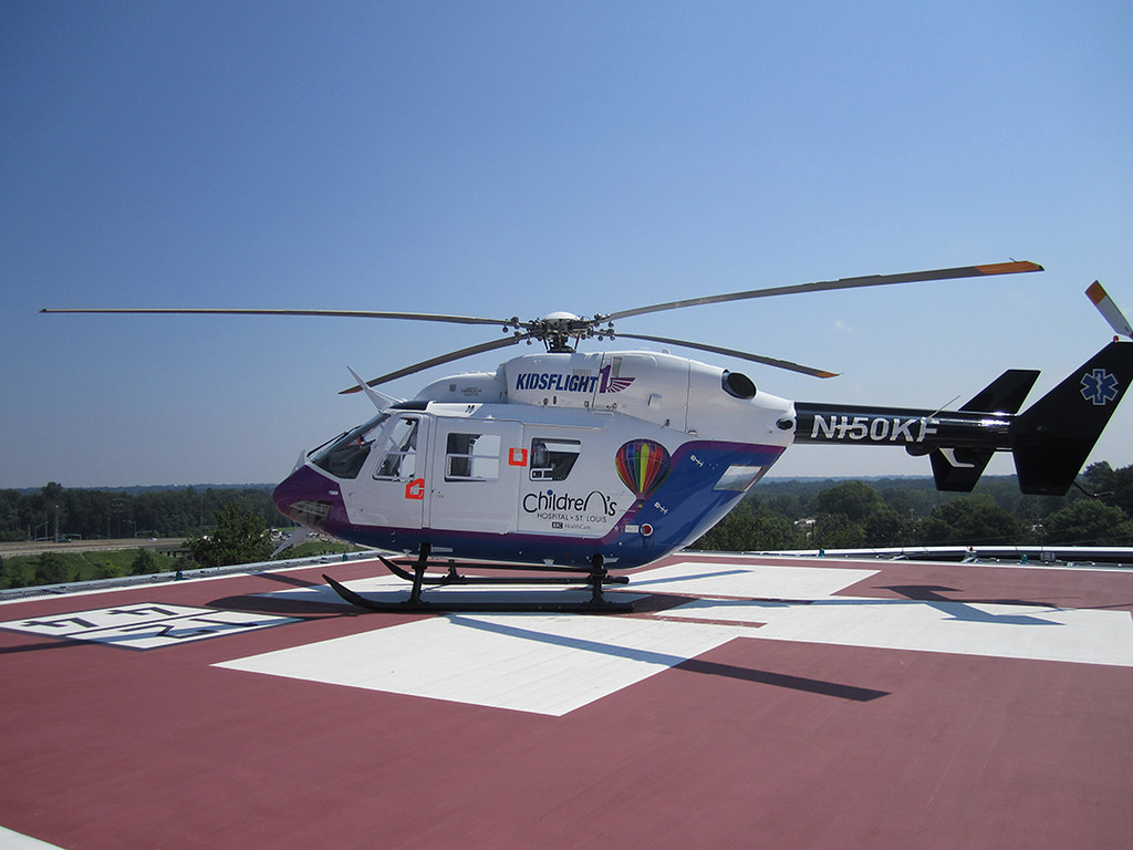 Kids Flight 1 - St. Louis Children's Hospital Helicopter ...