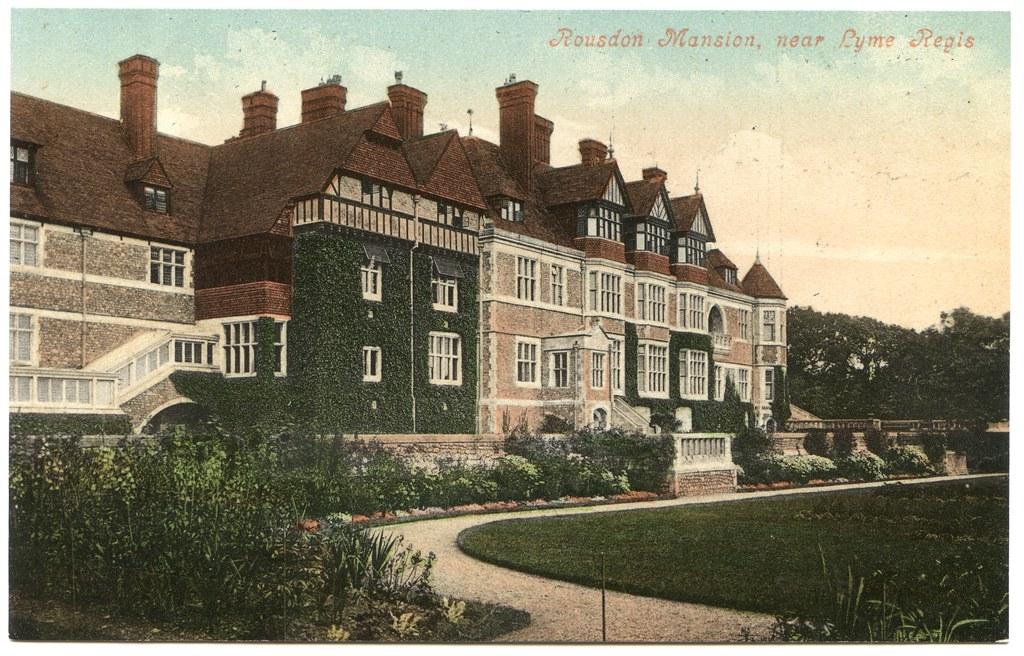 Rousdon Mansion (Allhallows School), Lyme Regis, Dorset ...