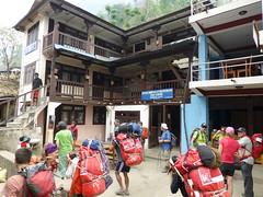 Arrival at Macha Khola (880 m)