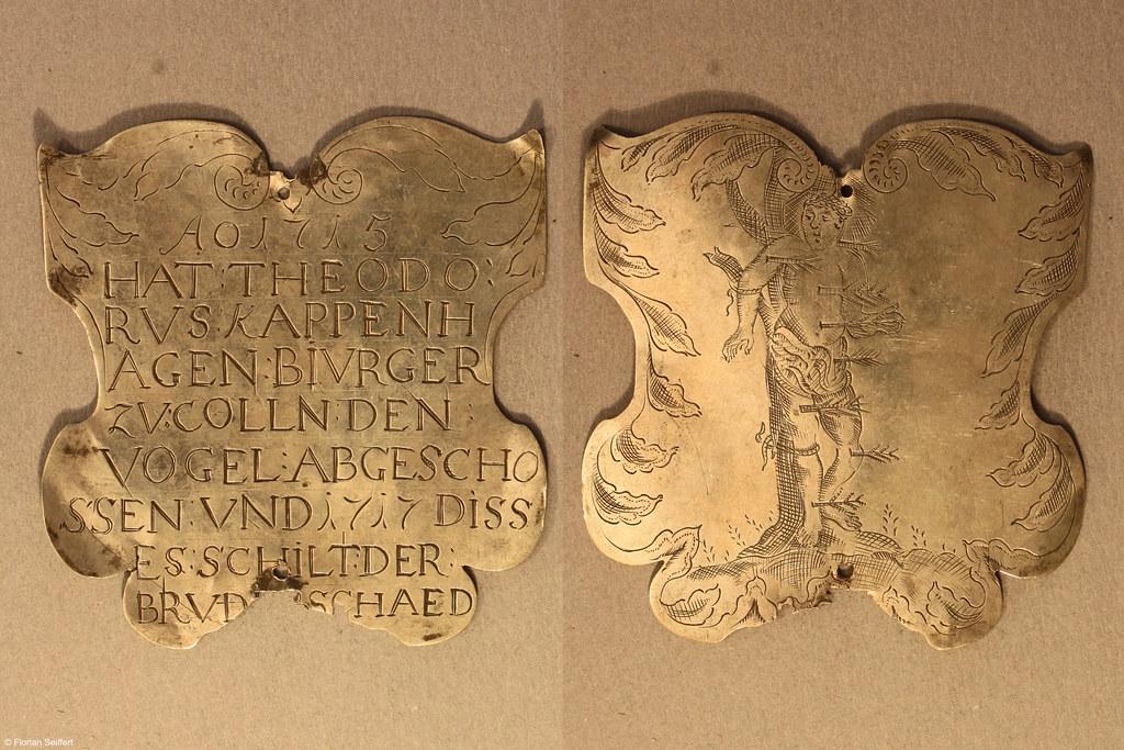 Koenigsschild Flittard von kappenhagen theodorvs aus dem Jahr 1715