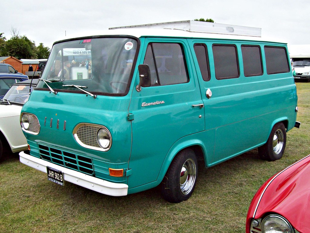 145 Ford Econoline Van 1st Generation 1964 Ford