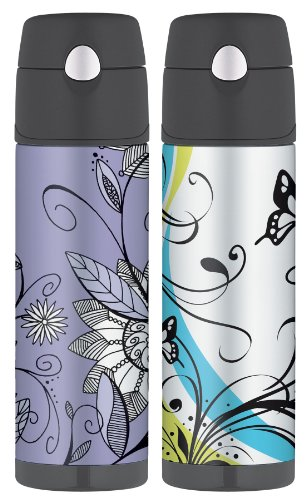Thermos Raya 18 Ounce Hydration Bottle Purple Flower Flickr