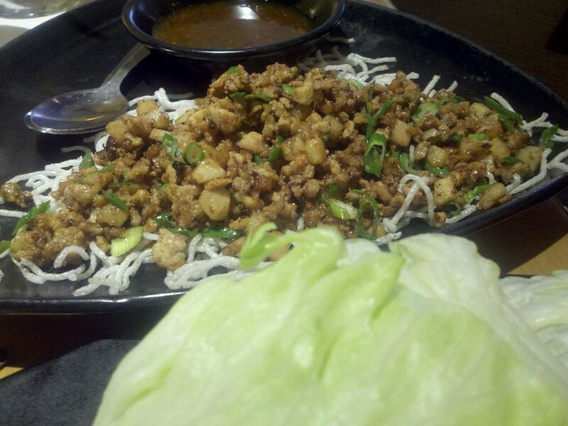 Chicken Lettuce Wraps California Pizza Kitchen A Much Be Flickr