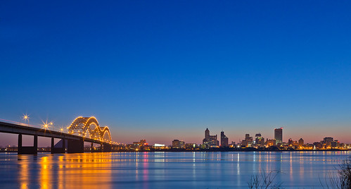 memphis morning skyline | by otacon4130