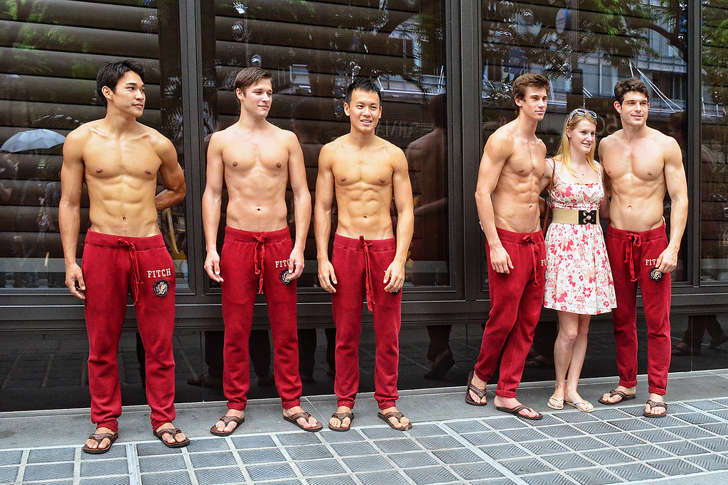 abercrombie and fitch models nude № 79846