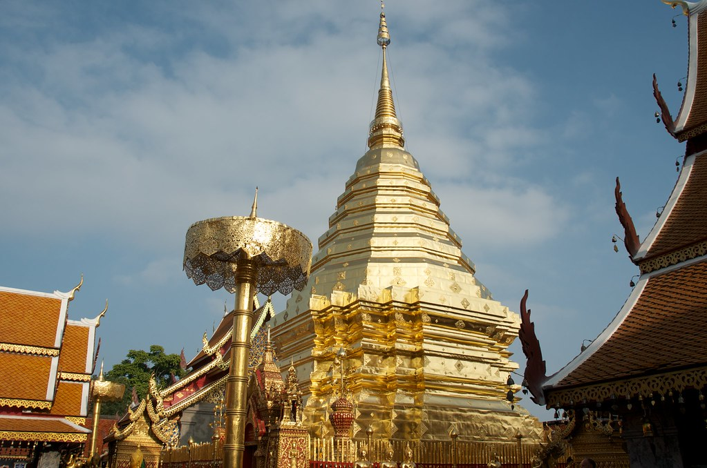 Wat Phrathat Doi Suthep Temple  Thai: วัดพระธาตุดอยสุเทพ ...