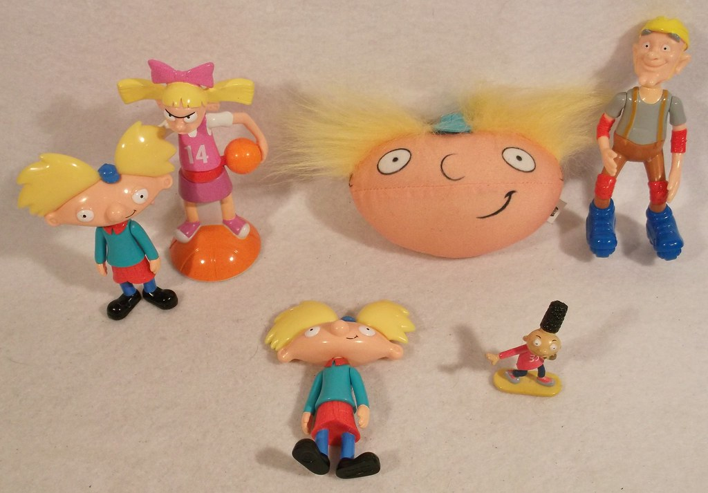 nickelodeon hey arnold toys