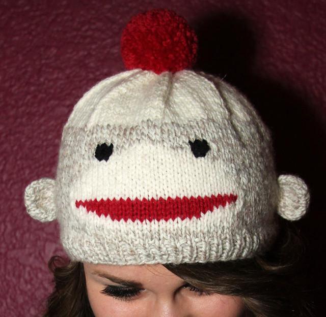 Easy Sock Monkey Knitting Pattern : Hand Knit Sock Monkey Pattern Hat coming soon! Flickr - Photo Sharing!