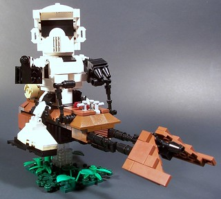 CHIBI Scout Trooper and Speeder Bike | by M<0><0>DSWIM