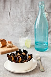 Steamed Mussels With White Wine & Key Limes | by tartelette