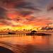 Maayafushi's sunset