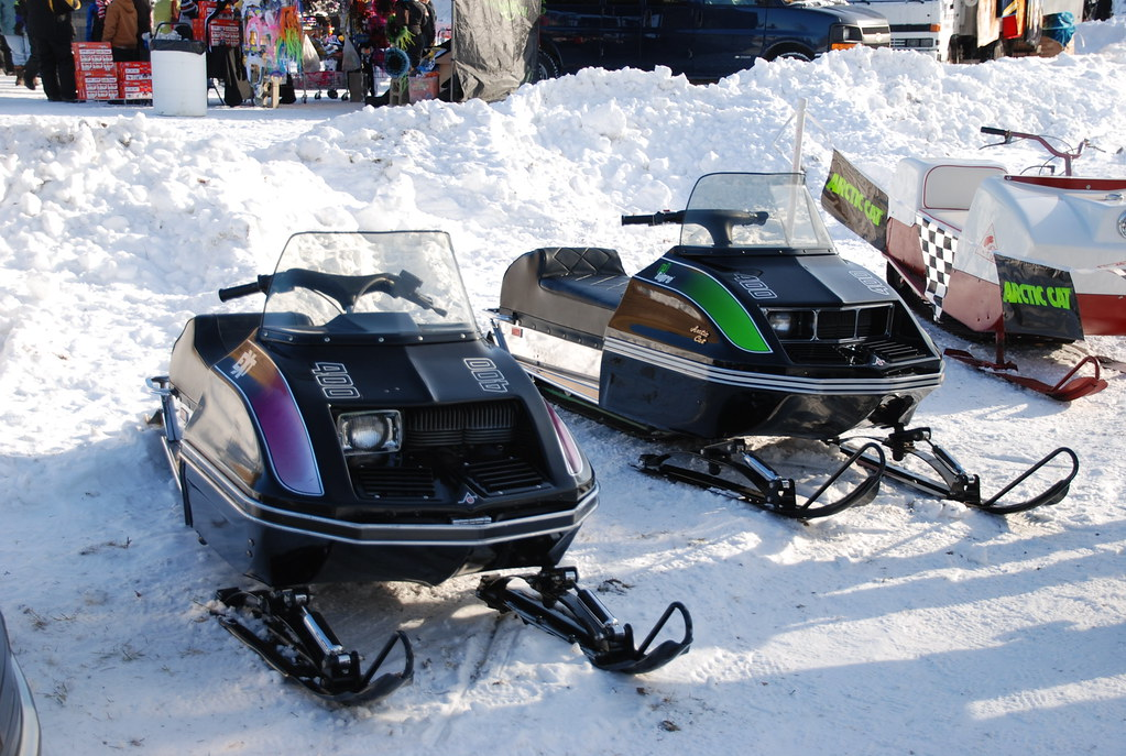 Arctic Cat El Tigre  Series Vintage Ice Racing Sleds