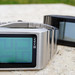 Kisai Optical Illusion Touch Screen LCD Watch Design With Time, Date & Alarm from Tokyoflash Japan