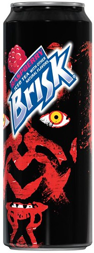 Brisk Tea Darth Maul can (2012) | by Paxton Holley